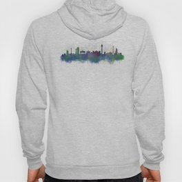 Berlin City Skyline HQ3 Hoody