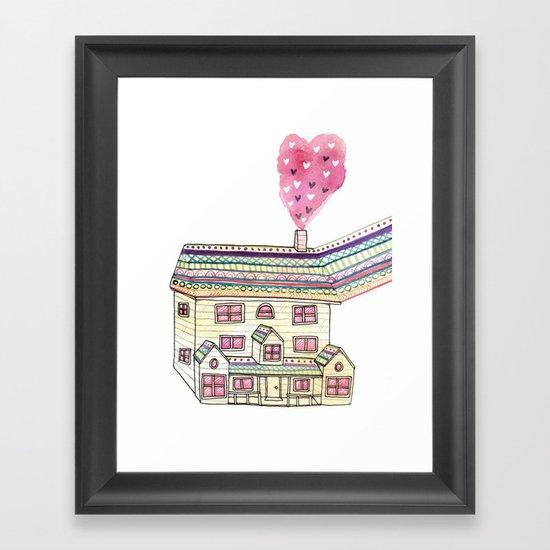 Dream Home Framed Art Print