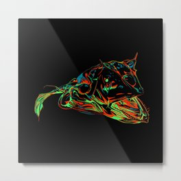 Deep Sea Creature Metal Print