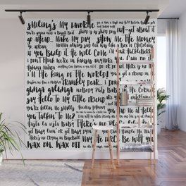 movie quotes Wall Mural