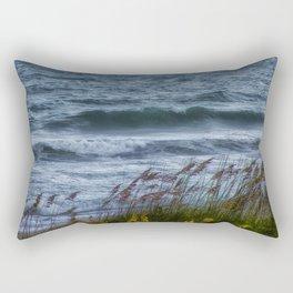 Blowing Sea Oats Rectangular Pillow