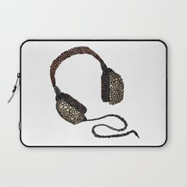 Put Your (Vintage) Headphones On - Abstract Laptop Sleeve