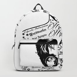 HP Mischief Managed Tat Sketch Backpack