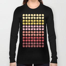 Floral Geometry Pattern Long Sleeve T-shirt