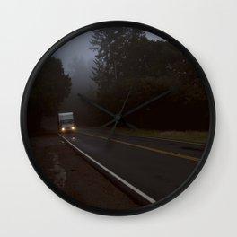 Highway 9 truck Wall Clock