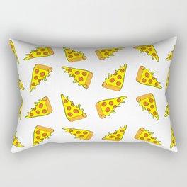 i want pizza Rectangular Pillow