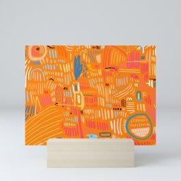 Lava Rock Mini Art Print