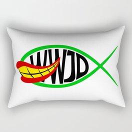 What Would Joker Do? Rectangular Pillow