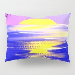 Tropical sunset design Pillow Sham