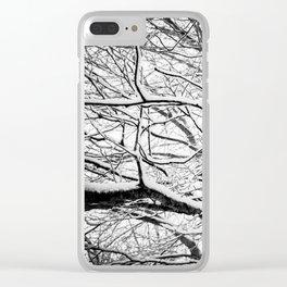 Winter Wonderland 3 Clear iPhone Case