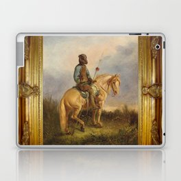 Framed Chief Pachycephalosaurus Laptop & iPad Skin
