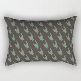 Pata de Gallo Rectangular Pillow