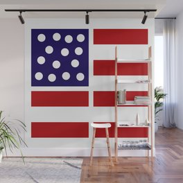 American design! USA flag #society6 #decor #buyart #artprint Wall Mural