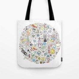 Ghibli Love Circle Tote Bag