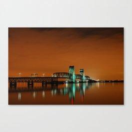 Marine Parkway Bridge 2 Canvas Print