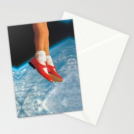 The shoes Stationery Cards