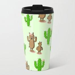Cactus bear Travel Mug