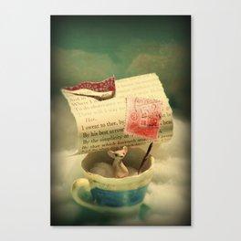 The Little Traveler Canvas Print
