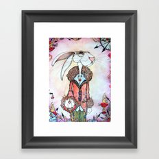 Follow Him Framed Art Print