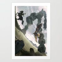 shadow Art Prints featuring Shadow by Chad Gowey