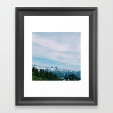 Spirit walk Framed Art Print