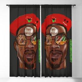 Kwanzaa Pan Afrika Version 2  Blackout Curtain