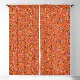 Aries Print Blackout Curtain