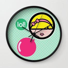Niña Pija Wall Clock