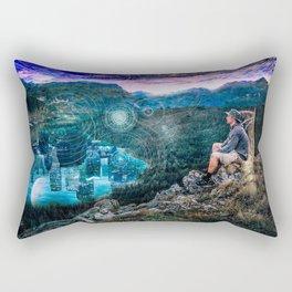 Portal of the Mind Rectangular Pillow