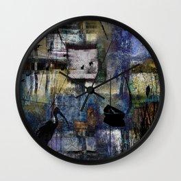 Lakeshore at Dawn Wall Clock