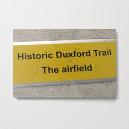 Duxford The Airfield Metal Print
