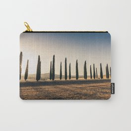 Valley in Tuscany at sunset Carry-All Pouch