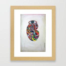 Ojo caracol by Diego Manuel. Framed Art Print