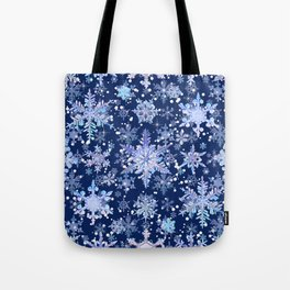 Snowflakes #3 Tote Bag