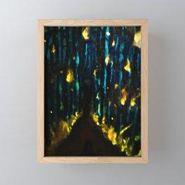 Forest Fires Framed Mini Art Print
