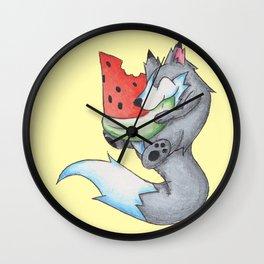 Summer Fruit Wall Clock