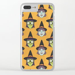 Good Witch VS Bad Witch Clear iPhone Case