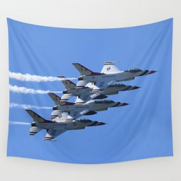 Thunderbirds Show Pass Wall Tapestry