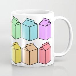 Pastel Milk Cartons Coffee Mug