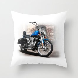 Harley-Davidson Throw Pillow