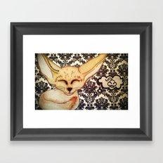 Fennec Fox dreams Framed Art Print
