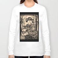 fairy tale Long Sleeve T-shirts featuring Fairy tale by Paula Duta