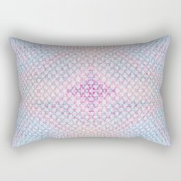 Ghosty Dots Bubble Rectangular Pillow