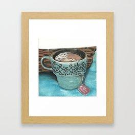 Chai Tea Framed Art Print