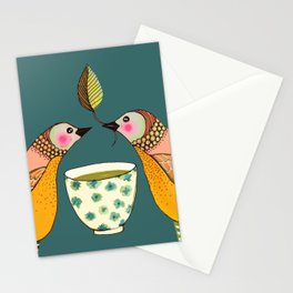 a tea for two Stationery Cards