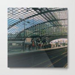 Hauptbahnhof Metal Print