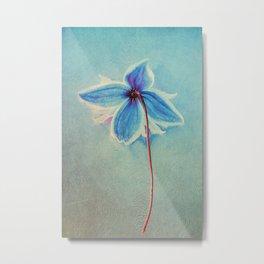 Lone flower Metal Print