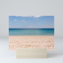 Bleu Beach   Greece   Color Art Print   Azur Mini Art Print