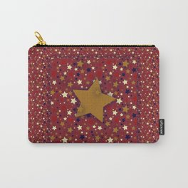 Gold Star Red Carry-All Pouch