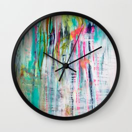 I don't know what to do Wall Clock